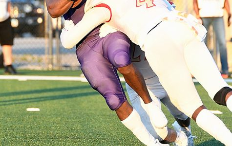 Junior Lavarion Logan is one of many offensive weapons this season for the Pirates, who are 4-0.