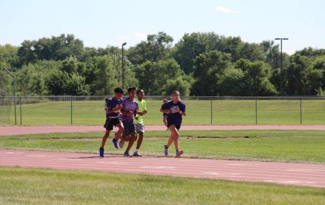 Girls cross country team puts safety first
