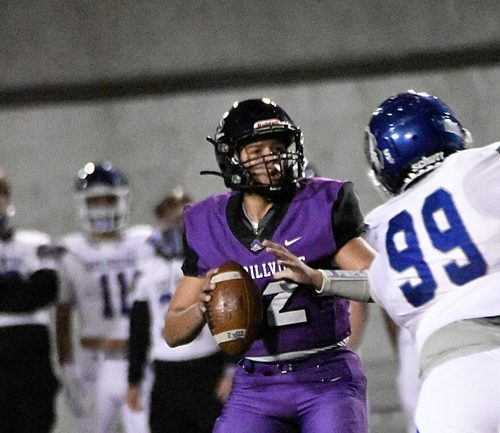 Junior Angel Nelson has stepped in at quarterback to help lead the Pirates to the DAC title.