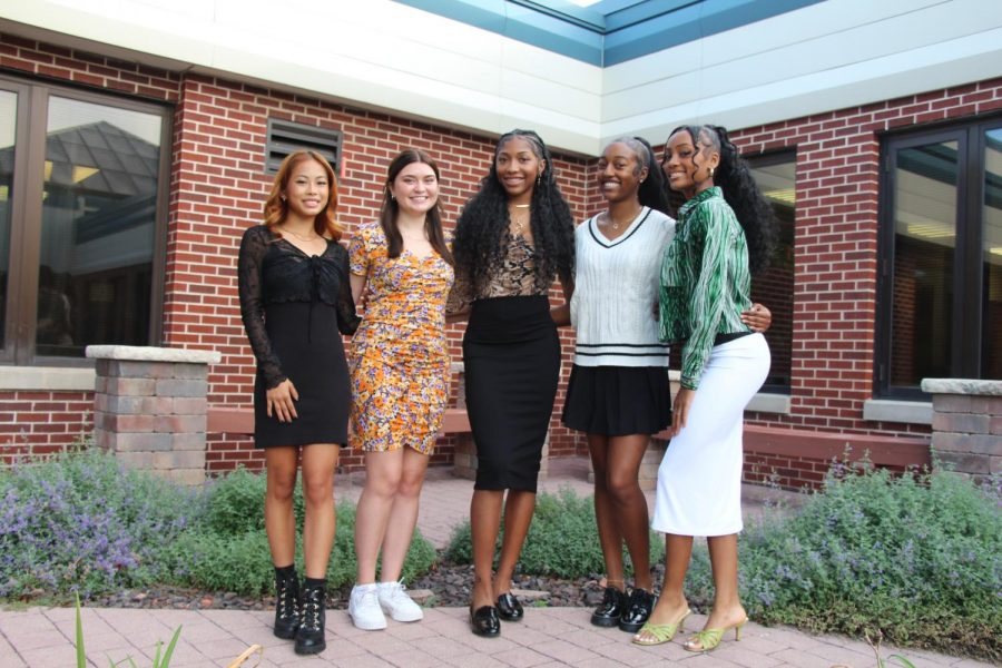 Homecoming Court features five outstanding candidates