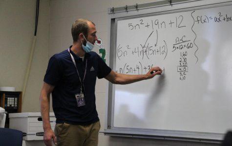 Mr. Tim McCoy — Math teacher