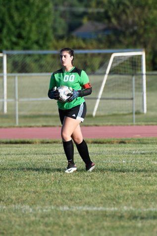 Hyland serves as role model for girls varsity soccer team