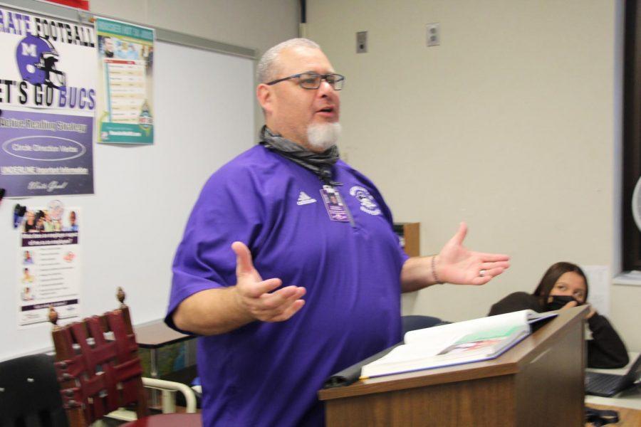 Mr. Chris Richardsons final day at MHS was Thursday.