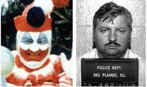 Notorious serial killer John Wayne Gacy had a side gig as a childrens clown.